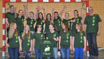 U15-Mädchen peilen nach dem Meistertitel den Aufstieg an