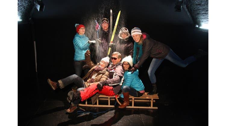 Musikalisches Schneegestöber zum Start im Cholechäller