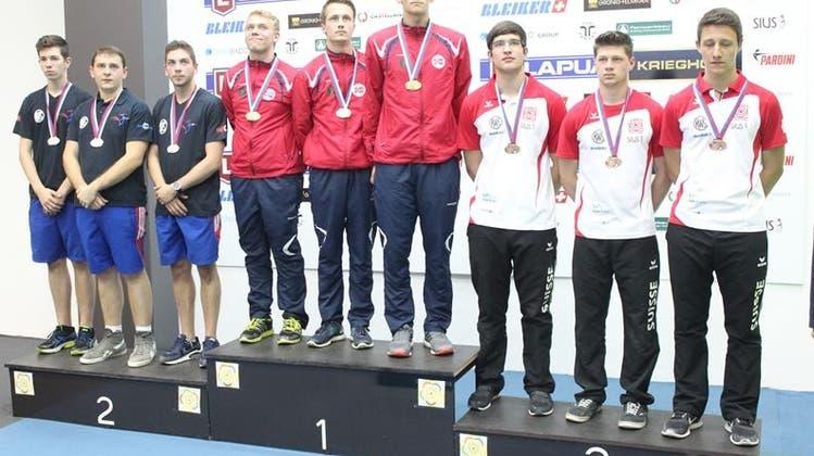 Die Schweiz gewinnt an der EM insgesamt neun Medaillen