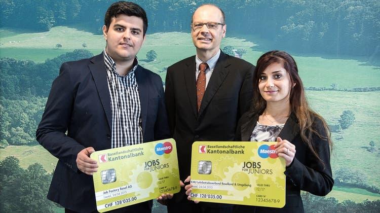 Die Baselbieter Kantonalbank hilft Jugendlichen beim Berufseinstieg
