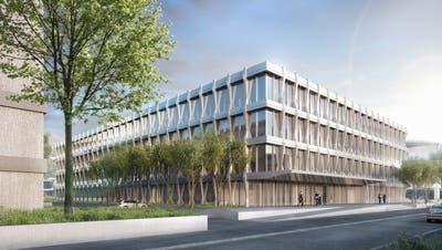 Der Zeitplan für den neuen Swissgrid-Hauptsitz in Aarau ist eng