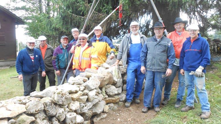 Berghilfe-Einsatz im Neuenburger Jura