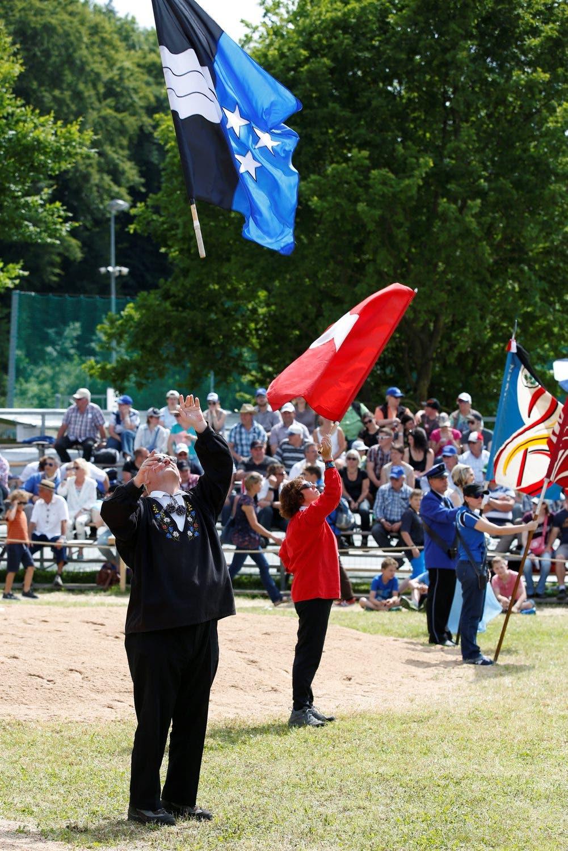 Impression vom 109. Aargauer Kantonalschwingfest.