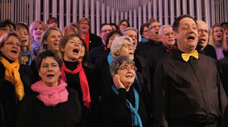 Ad-hoc-Chor in Weiningen: Wenn 80 Stimmen verschmelzen