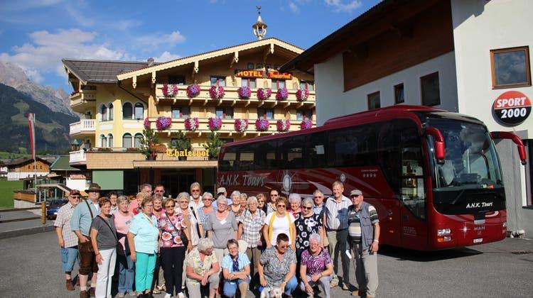 Reisebericht der SRL aus Maria Alm im Pinzgau