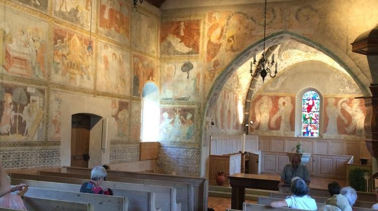 Exkursion zu den Thunerseekirchen der Strättliger-Chronik