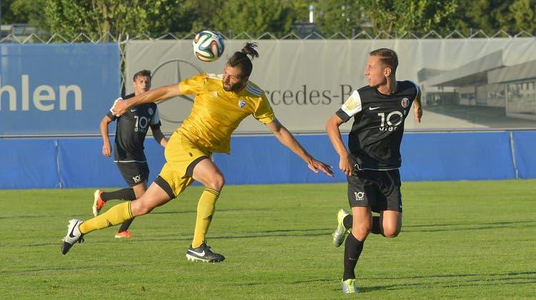 Verteidiger Exouzidis von Wohlen zu United Zürich in die 2. Liga