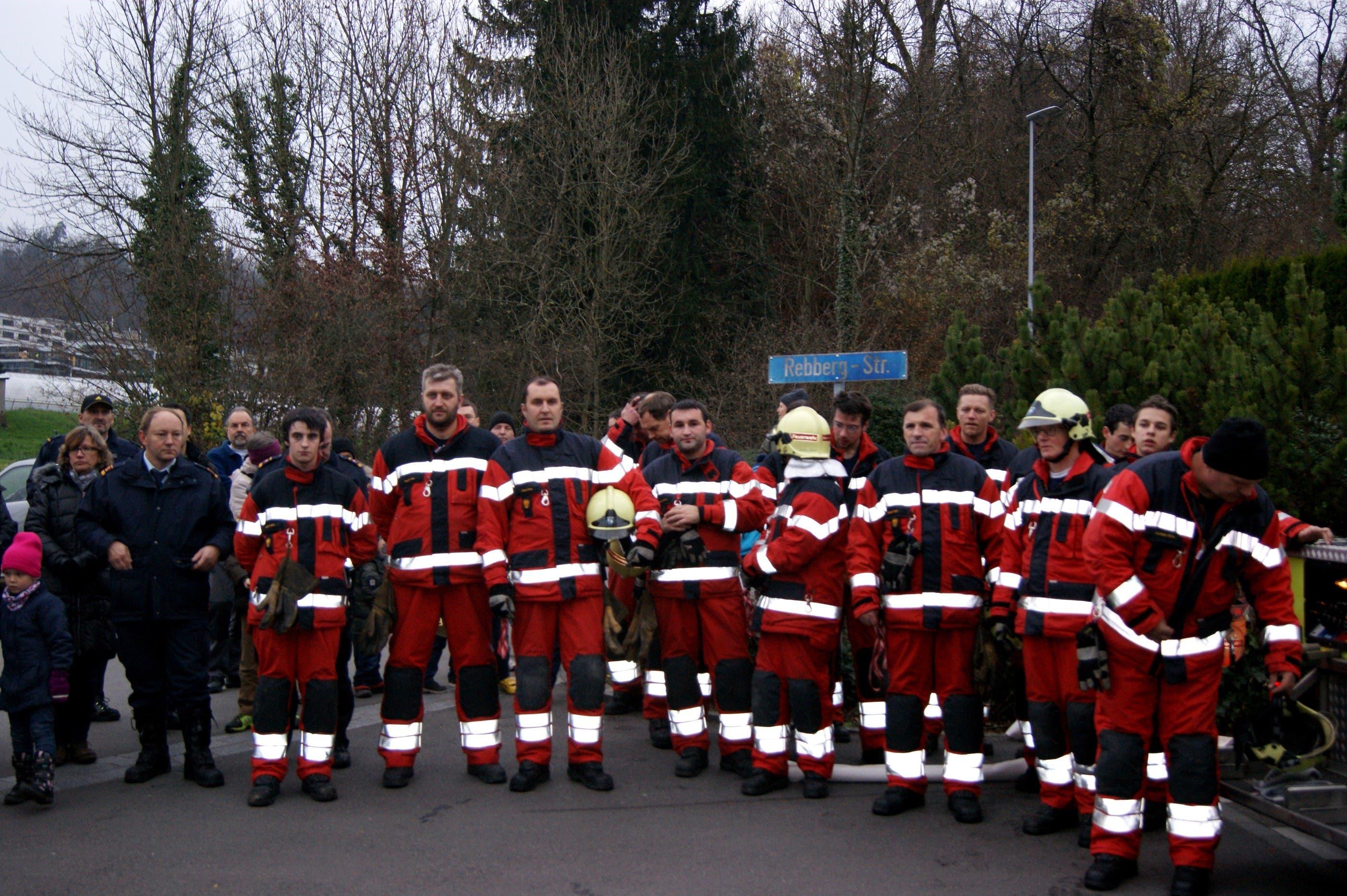 Feuerwehrübung in Oberengstringen