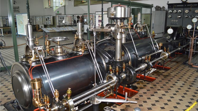 Sie steht seit 1904 unter Dampf und sorgt für Strom
