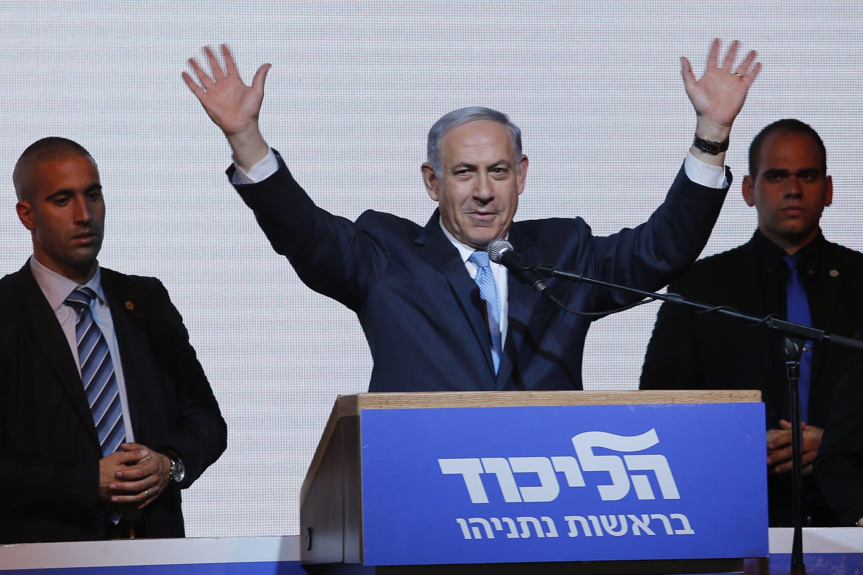 Netanjahu gewinnt Wahlen von Israel