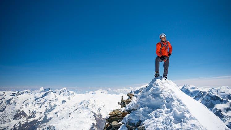 Daniel Arnold besteigt die Matterhorn-Nordwand in Rekordzeit