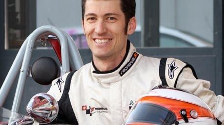 Bruno Weibel Führender in der Europameisterschaft der Formel Junior