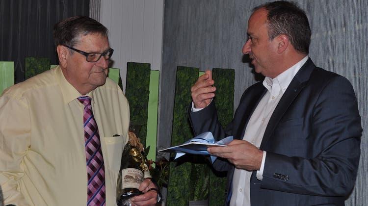 44 Jahre hat Fritz Fischer Baden Regio geleitet – nun tritt er zurück