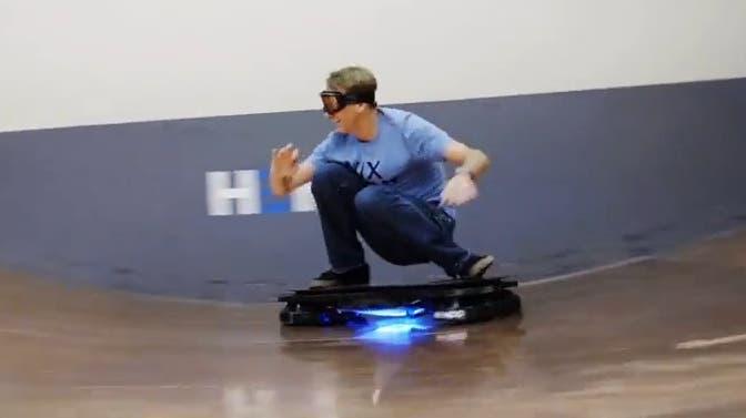 Das schwebende Skateboard wird Wirklichkeit