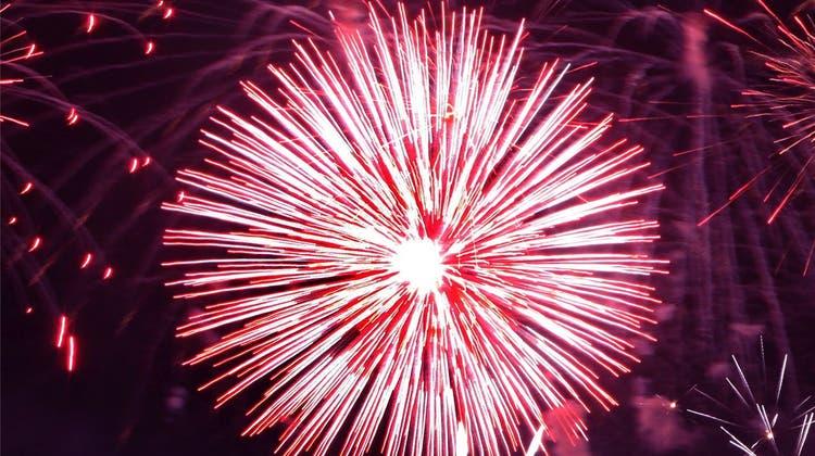 Wenns regnet, wird das grösste Feuerwerk der Schweiz abgesagt?