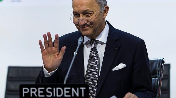Klima-Gipfel-Chef Fabius - das ist der Mann der historischen Stunde
