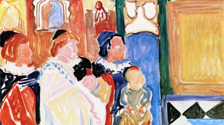 Ein grosser Maler des Engadins im Kunstmuseum Solothurn