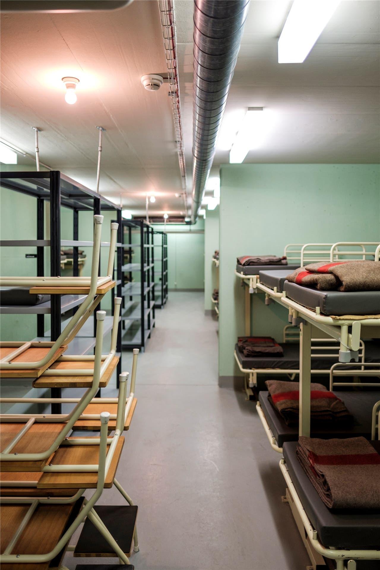 Die unteridische Anlage im Spital in Baden