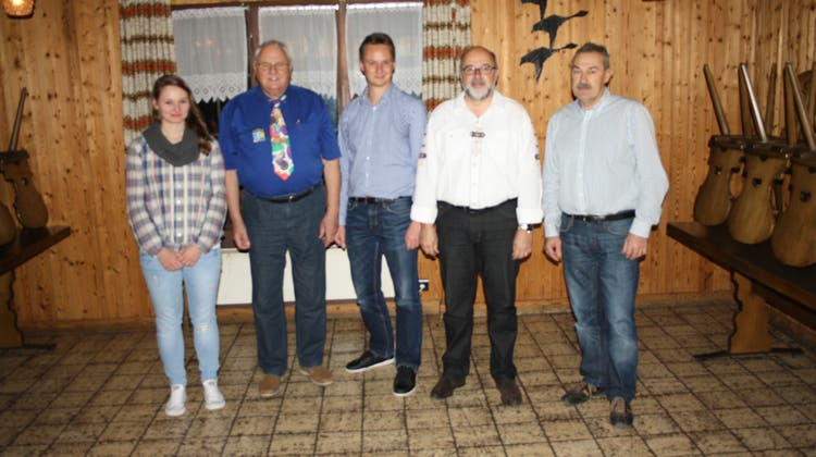 Absenden der Feldschützengesellschaft Waltenschwil 2014