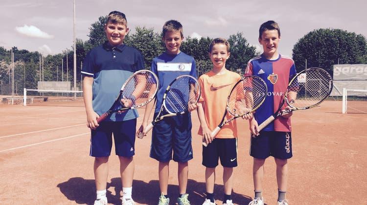 Gruppensieg für die Junioren vom Tennisclub Rheinfelden