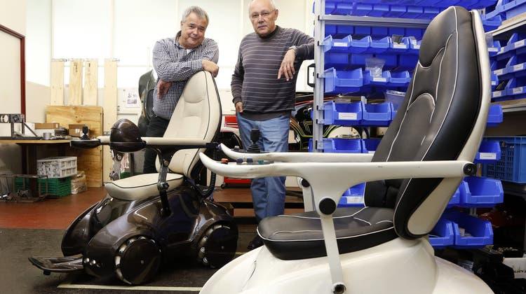 Diese Bellacher bauen den «manövrierfähigsten» Elektrorollstuhl