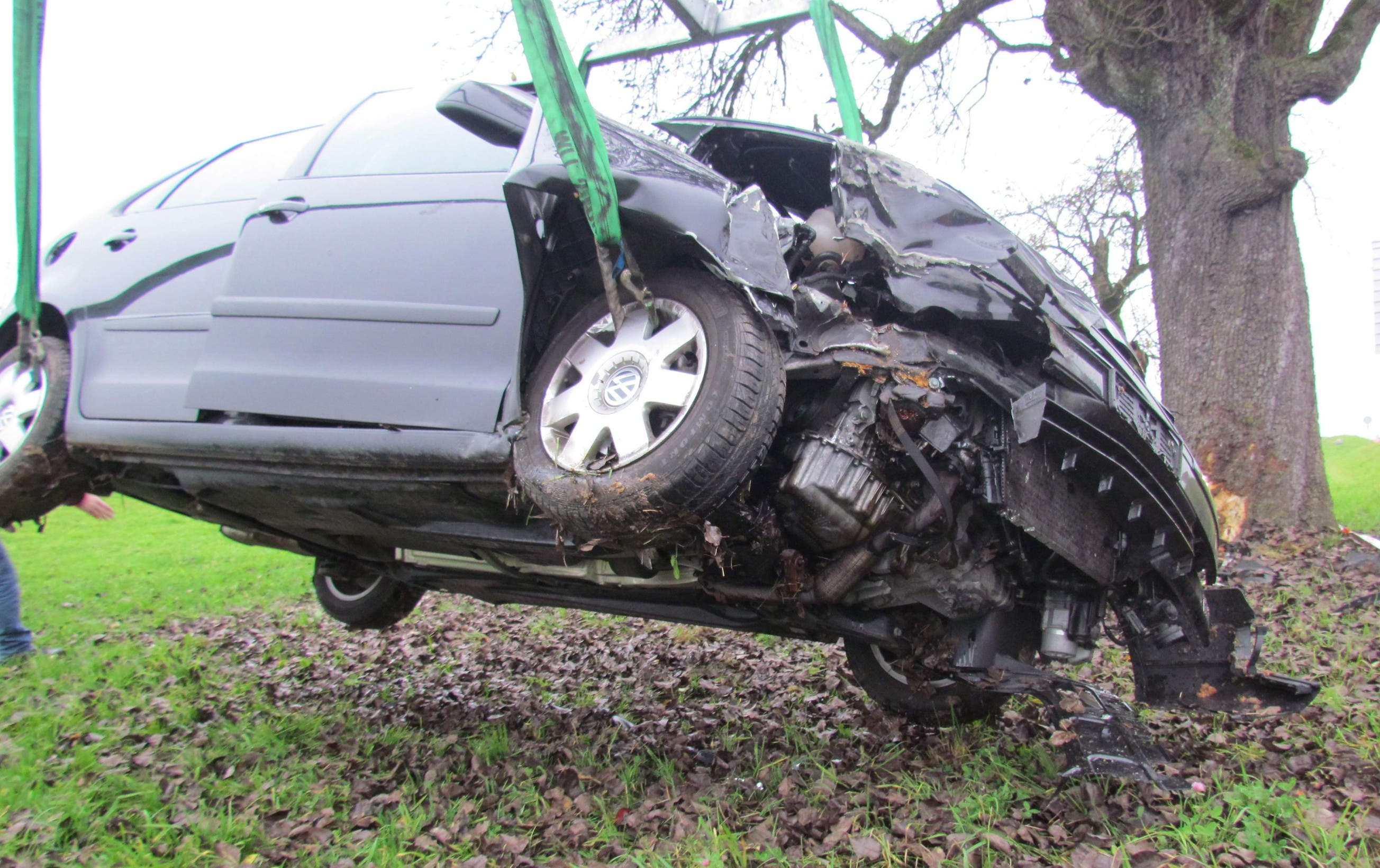 Verkehrsunfall in Boswil