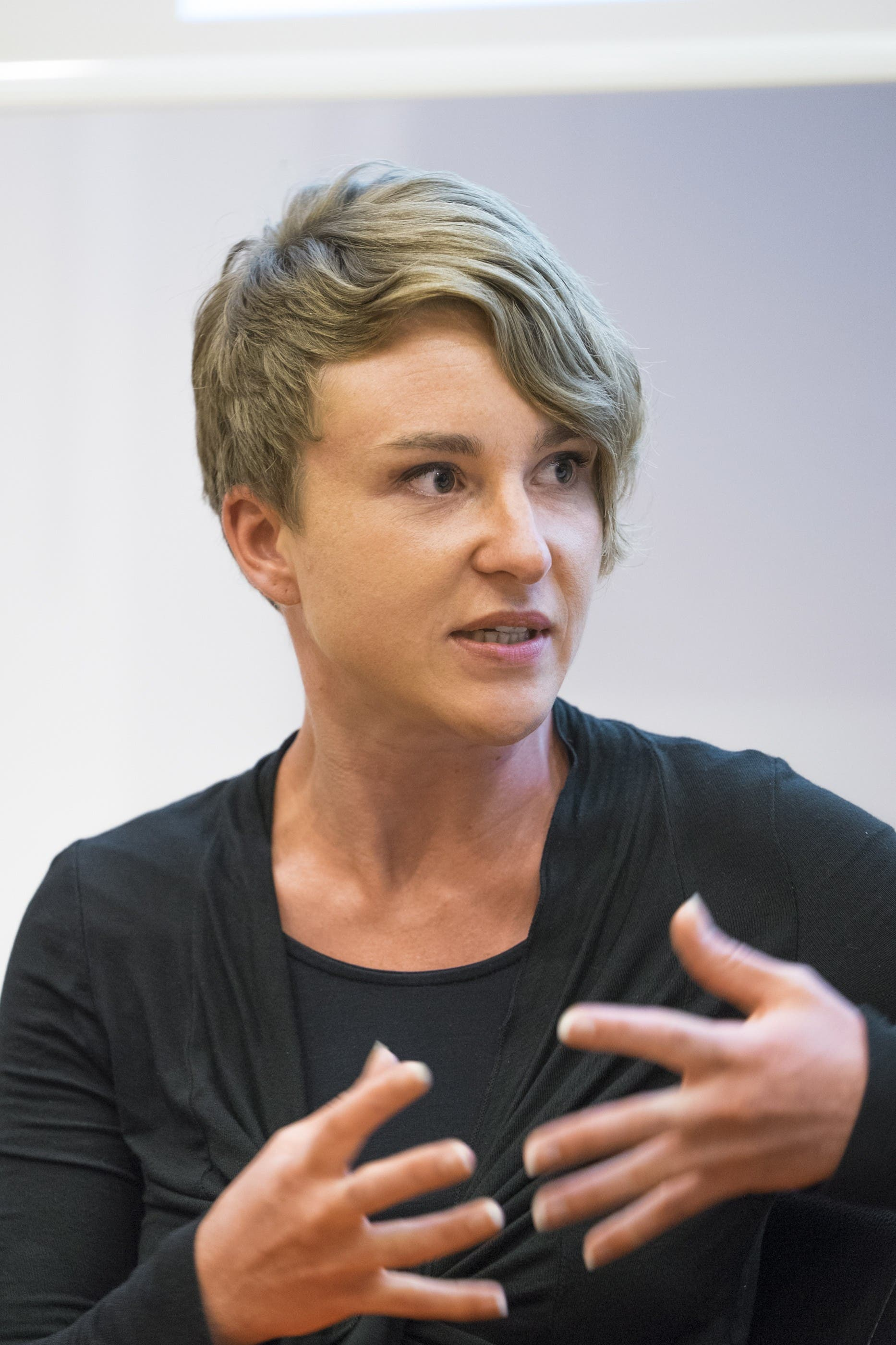 Irène Kälin, Co-Fraktionschefin Grüne: «Eine Erbschaft ist praktisch wie ein Lottogewinn, da ist es doch richtig, einen Teil davon zurückzugeben.»