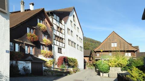 Der alte Dorfteil von Balgach. (Bild: Max Tinner)