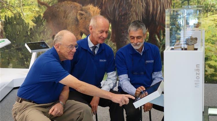 Mammutmuseum in Niederweningen rüstet Ausstellung digital auf