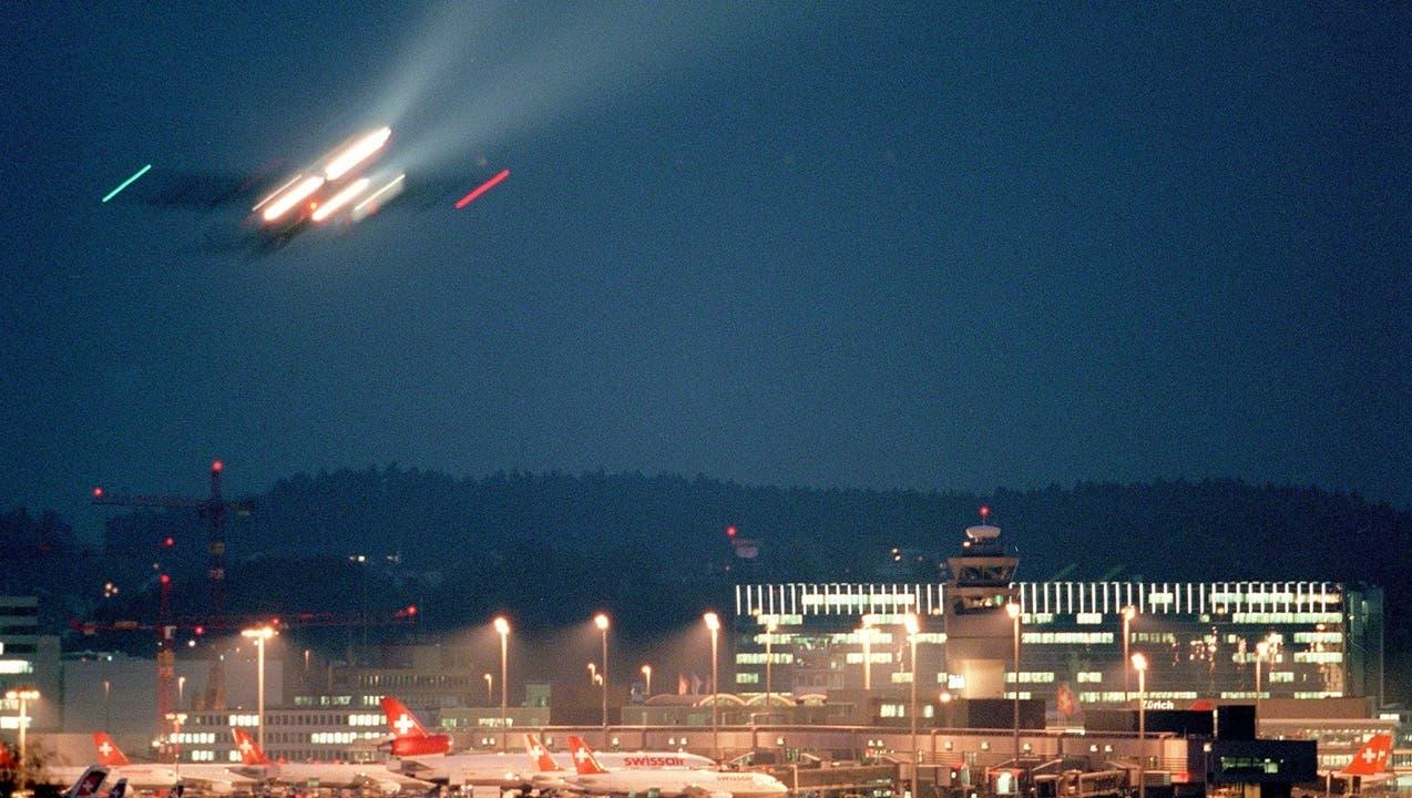 Flughafen Zürich: Nachtruhe lässt sich nicht ganz einhalten