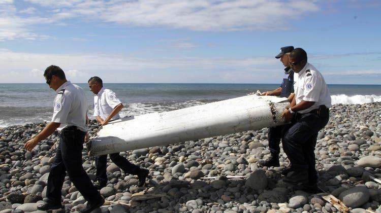 Offenbar ist es Flug MH370: Nummer auf Wrackteil gehört zu einer Boeing 777