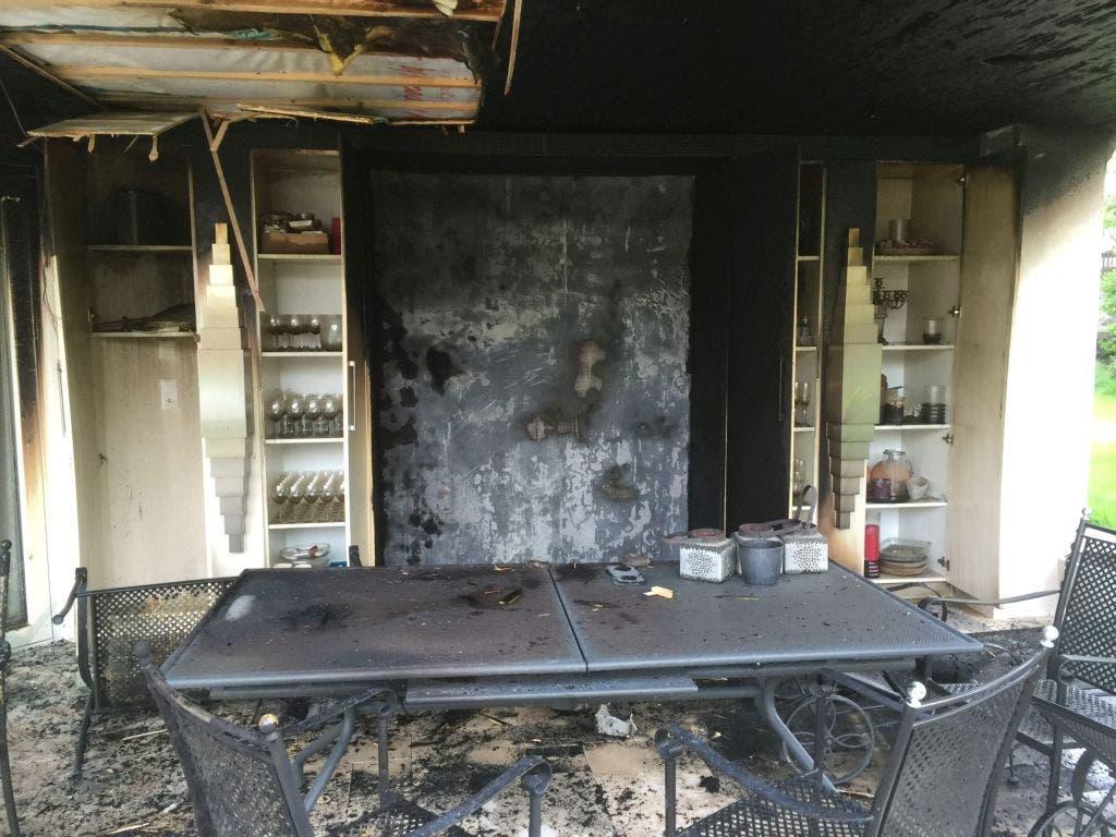 Brand in Läufelfingen