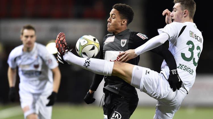 Senger köpfelt den FC Aarau noch weiter ins Elend