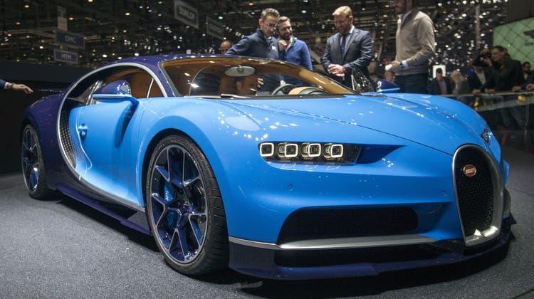 Dieses Auto wollen alle sehen – es ist schneller als ein TGV-Zug