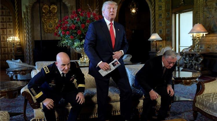 Trumps neuer Sicherheitsberater bekommt von Links und Rechts Lob