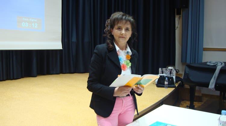 Rita Cappellucci ospite ad Aarau