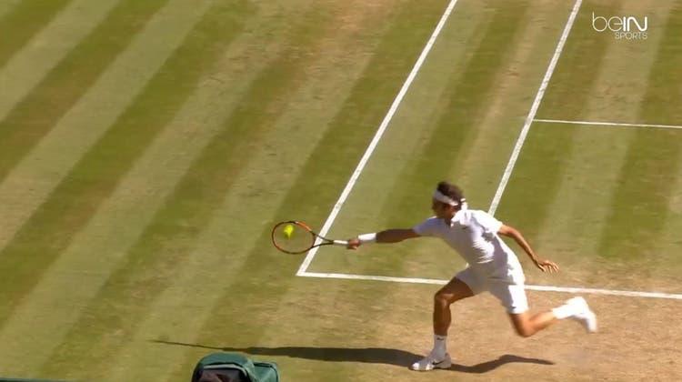 Dieser Federer-Winner ist auch dabei – die 5 besten Tennisschläge 2016