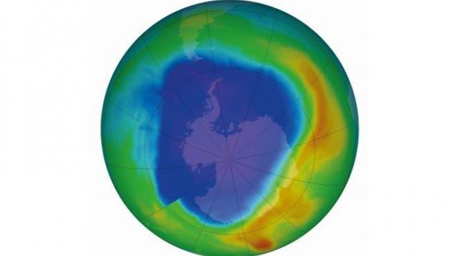 Das Ozonloch schliesst sich wieder