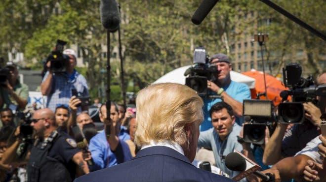 Trumps Stärke ist die Schwäche der Medien
