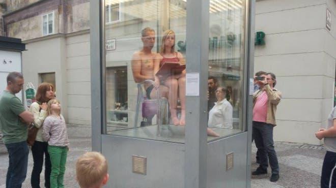 Freakshow auf dem Claraplatz