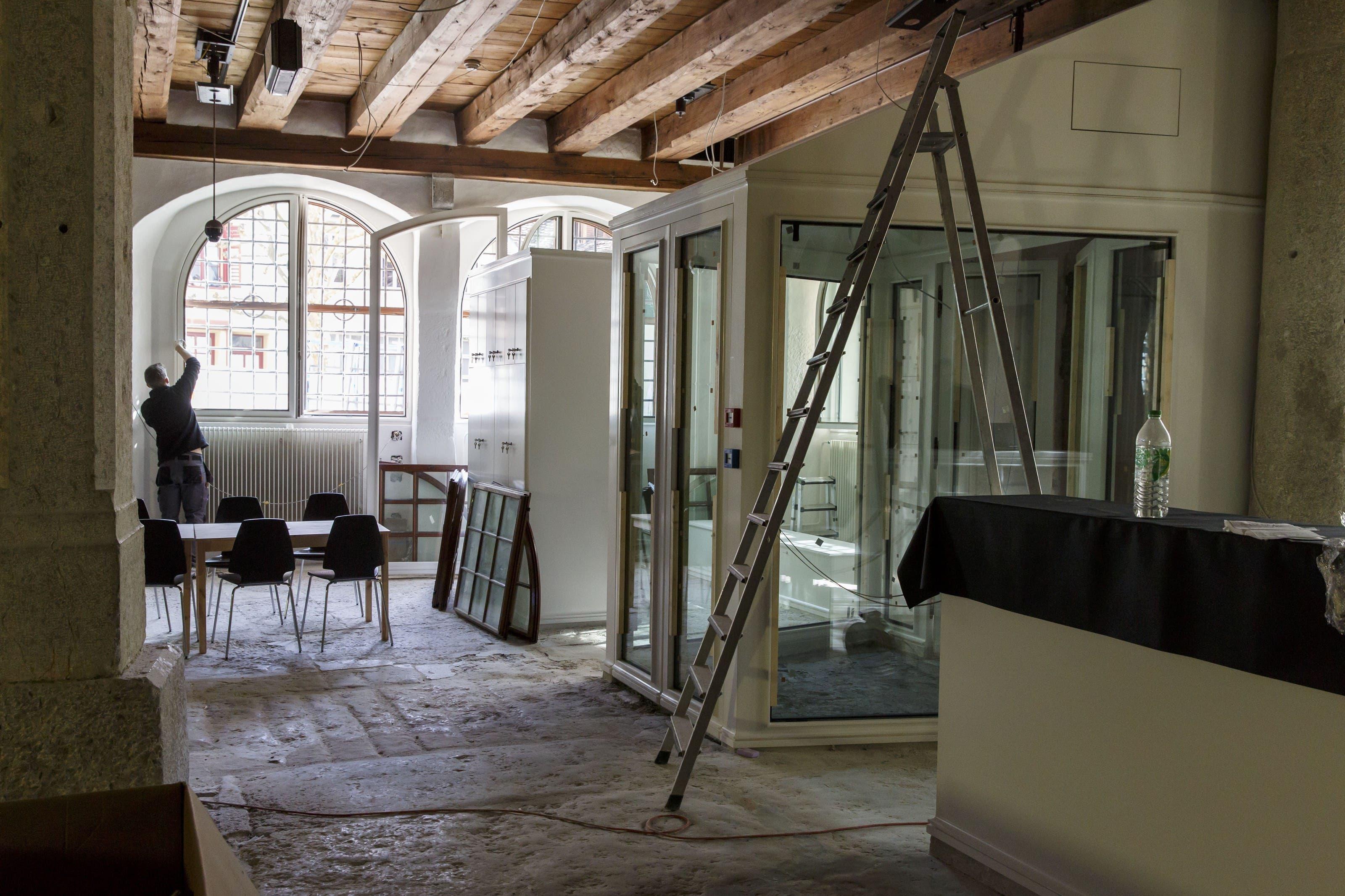 Elegante Modernität sollen diese ausdrücken – so haben es Edelmann, Krell Architekten GmbH, in ihrem Innenausstattungskonzept vorgesehen.