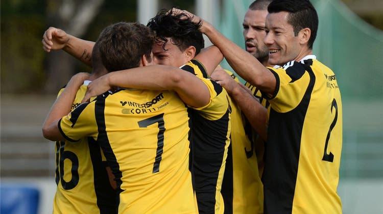 Die Old Boys siegen bei Brühl SG und stehen im Schweizer Cup