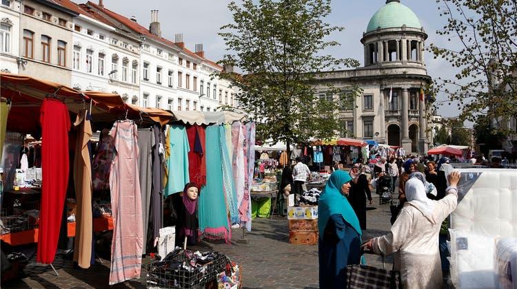 In Brüssels Skandalviertel Molenbeek hat die Polizei einen schlechten Ruf