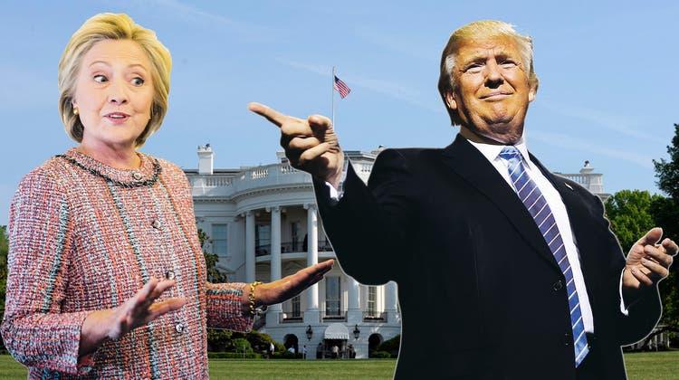 Clinton und Trump vor legendärem Schlagabtausch: Diese fünf TV-Debatten schrieben Geschichte