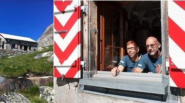 Eine Steinhütte ist das zweite Zuhause der Biberister
