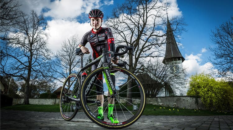 Hirschi holt Silber im Zeitfahren der Junioren EM