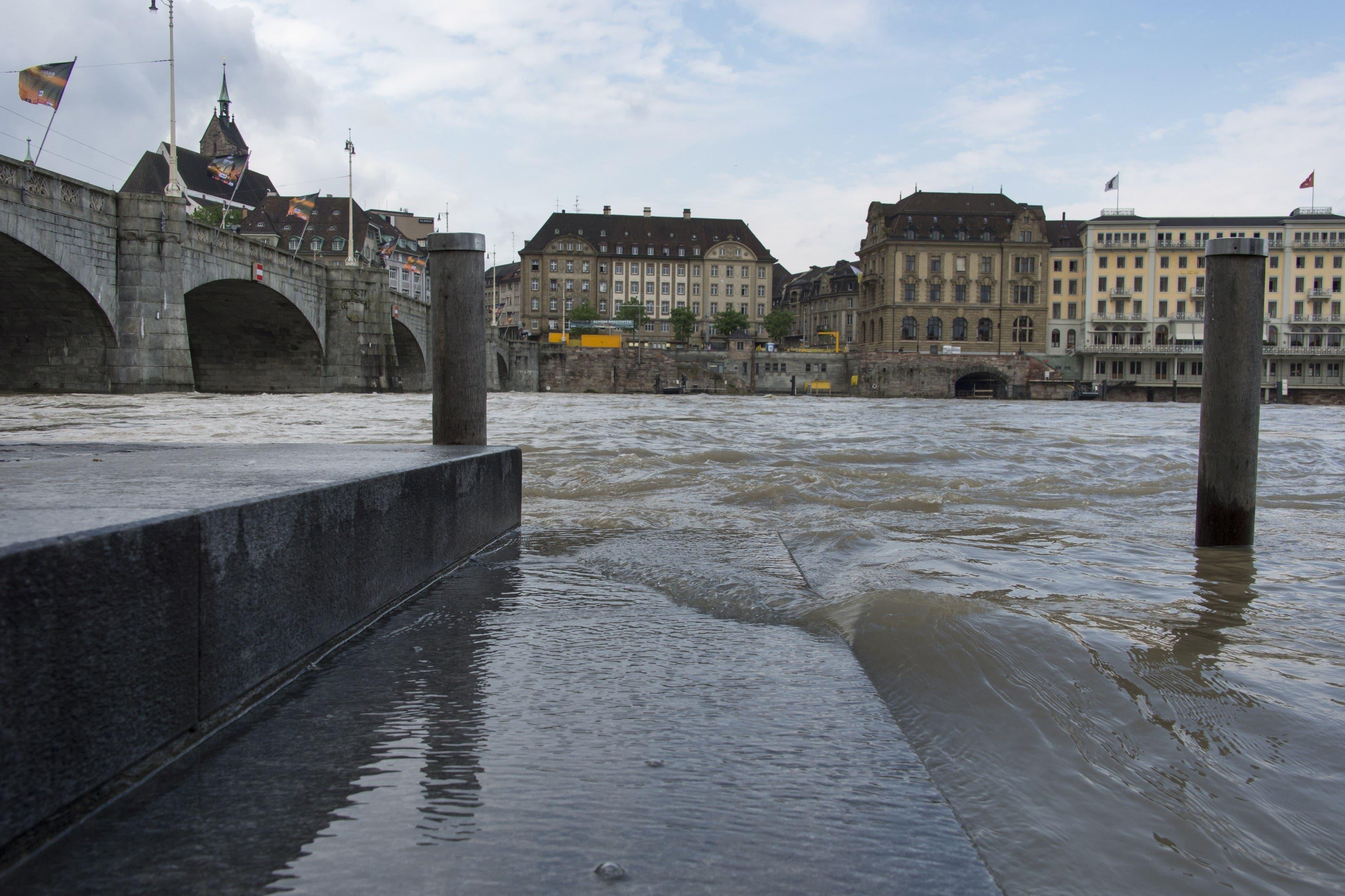 Der Rhein bei Basel.