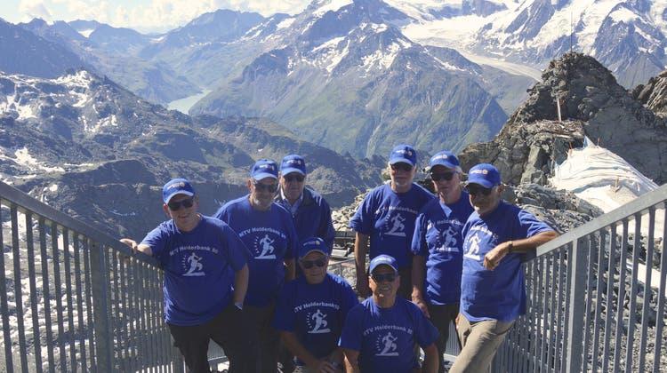 Ausflug Männerturnverein Holderbank ins Wallis