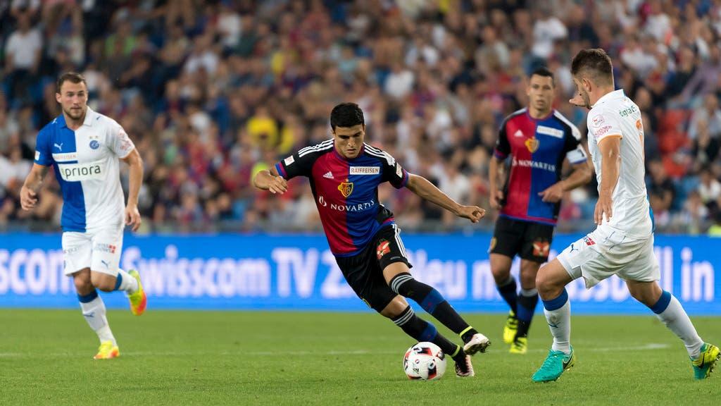 Der FC Basel konnte das letzte Aufeinandertreffen gegen GC (13. Runde, 29.10.2016) mit 2:0 gewinnen.