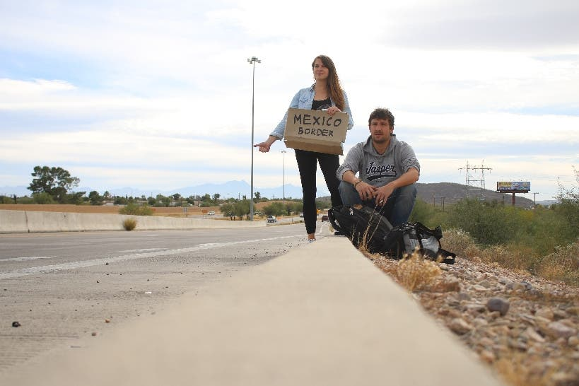 Tony (siehe Artikel) bringt uns nach Tucson, wo wir die letzte Nacht in den USA verbringen. Tags darauf geht es Richtung mexikanische Grenze.